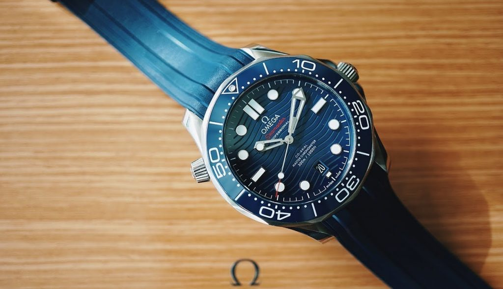 Omega Seamaster Diver 300M, Co-axial Master Chronometer 43.5 MM Replica