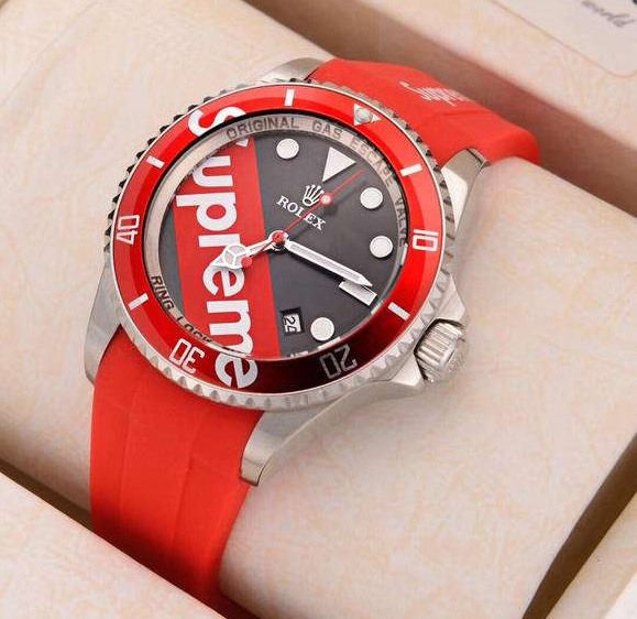 Replica Rolex with Supreme