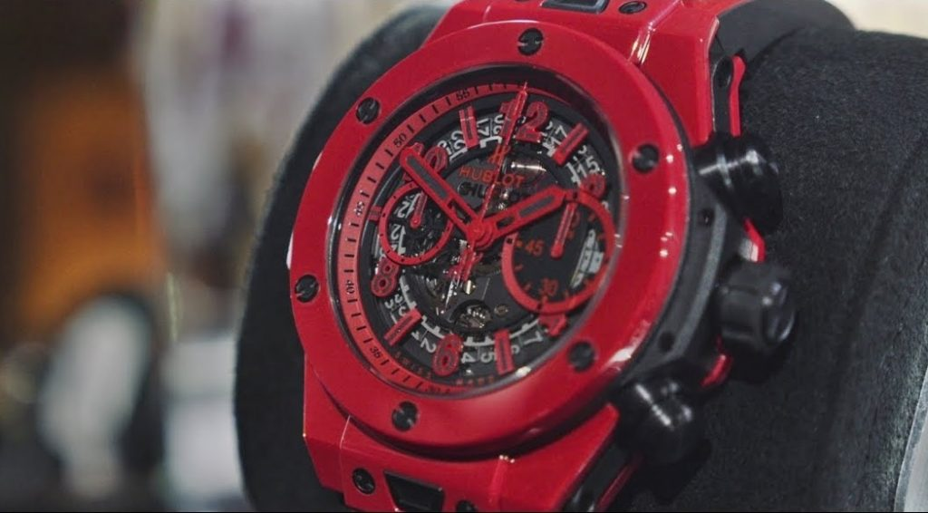Hublot Big Bang Unico Red Magic Replica Swiss Luxury Watch