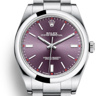 Oyster Perpetual 39MM purple