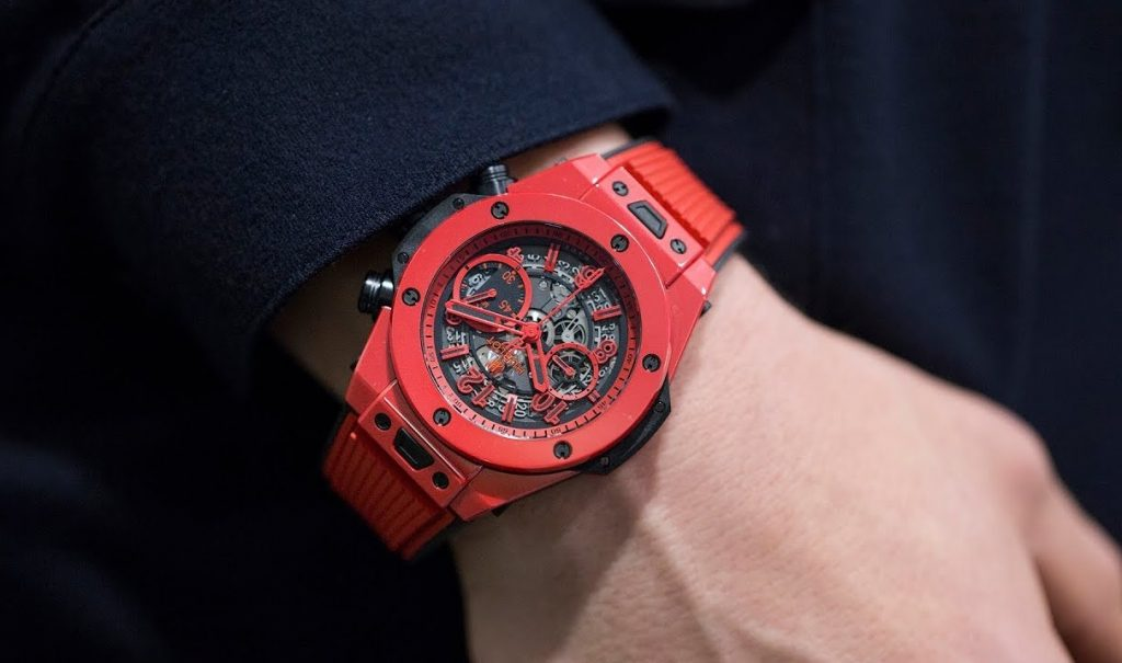 Replica Swiss Luxury Watch Hublot Big Bang Unico Red Magic