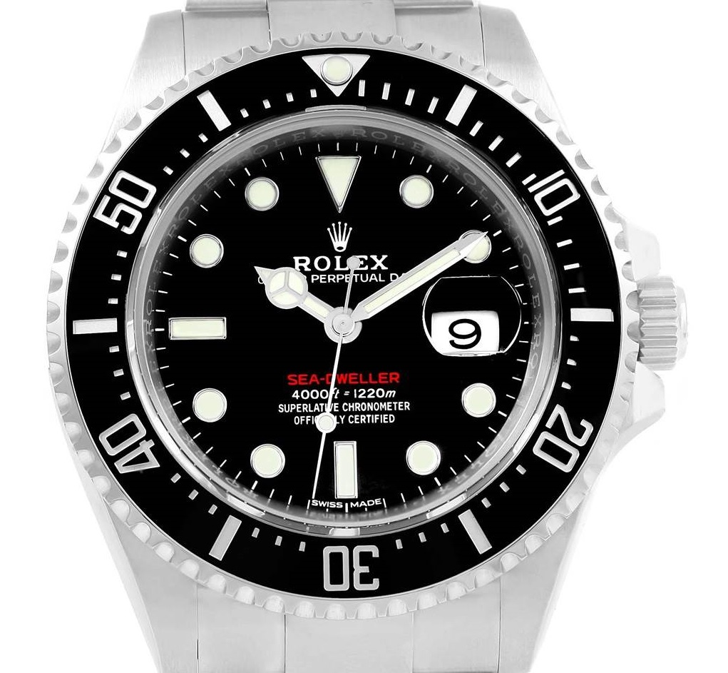 Rolex Fake Sea-Dweller 126600 Bezel