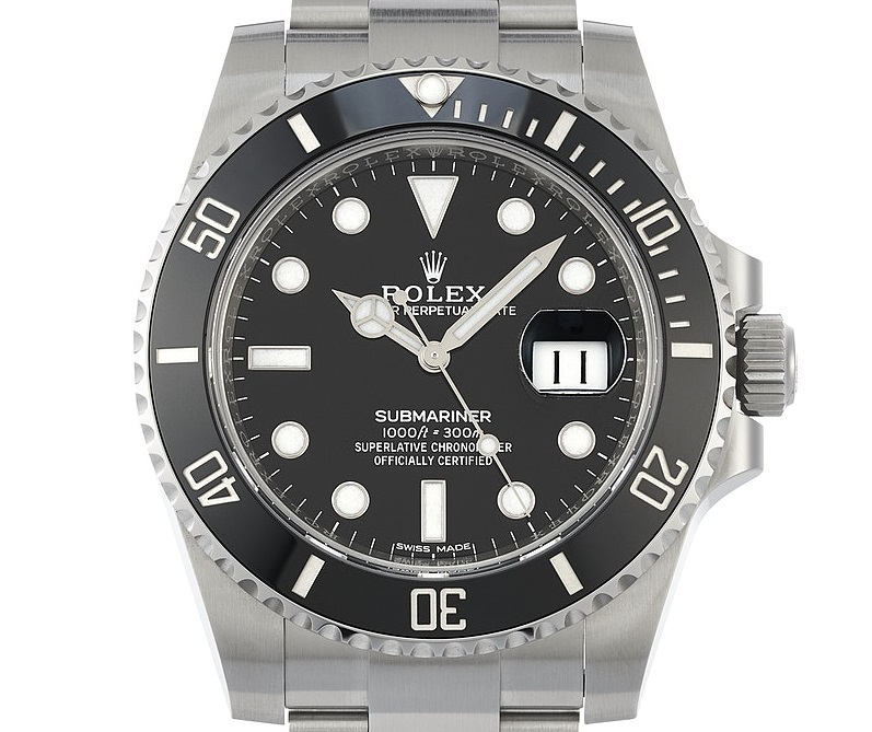 Rolex Fake Submariner 116610LN Bezel