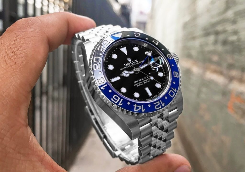replica Rolex GMT-Master II 126710BLNR Watch