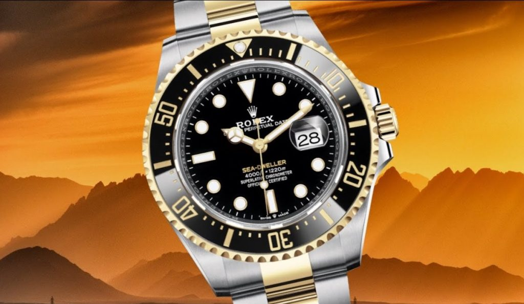 replica Rolex Sea-Dweller 126603 Watch
