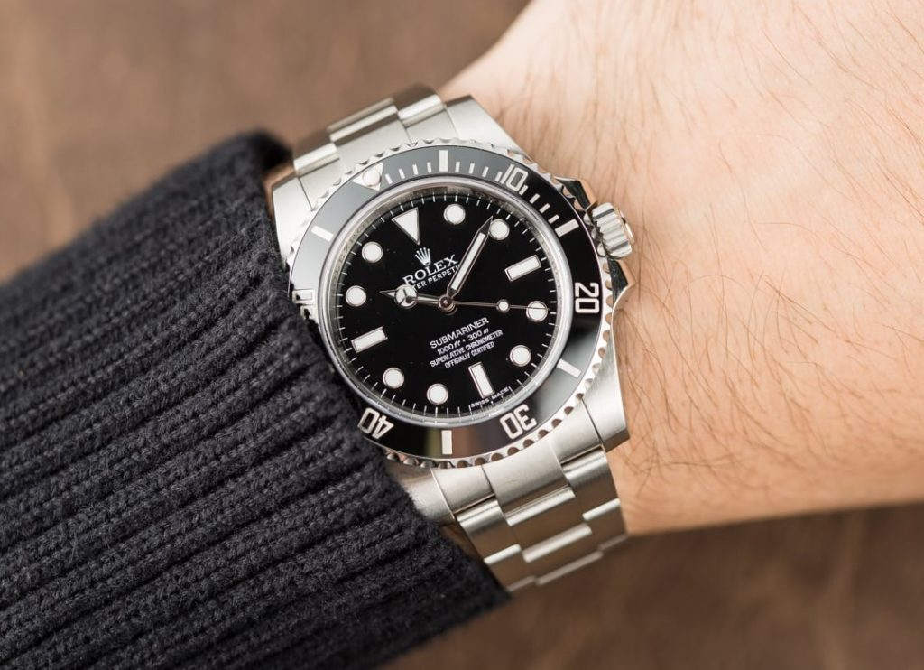 Rolex Submariner 114060 fake