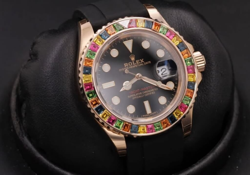 replica Rolex Yacht-Master 116695SATS