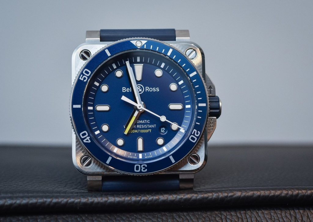 Bell&Ross BR03-92 Diver Blue watch fake