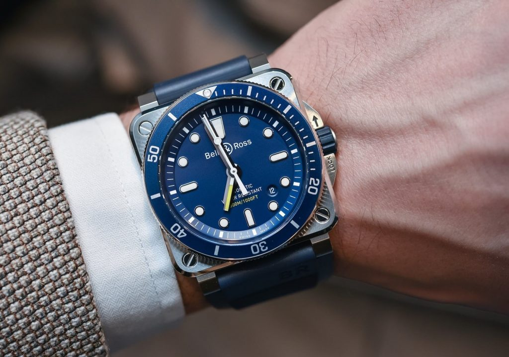 Bell&Ross BR03-92 Diver Blue watch replica
