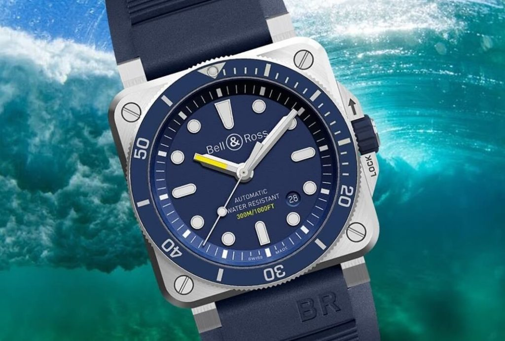 Bell&Ross replica BR03-92 Diver Blue watch