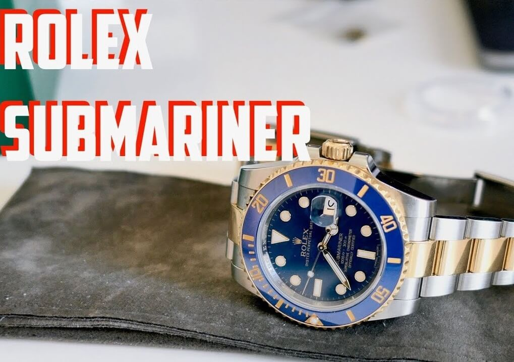Rolex Two-Tone Replica Submariner 116613LB