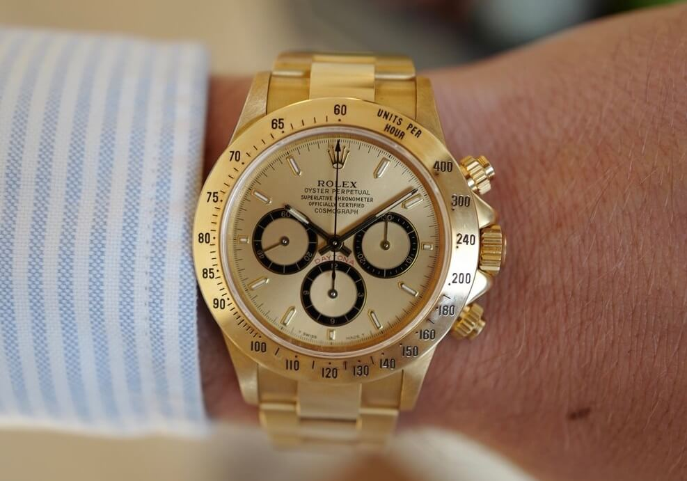 luxury replica Rolex Daytona 16528 watches