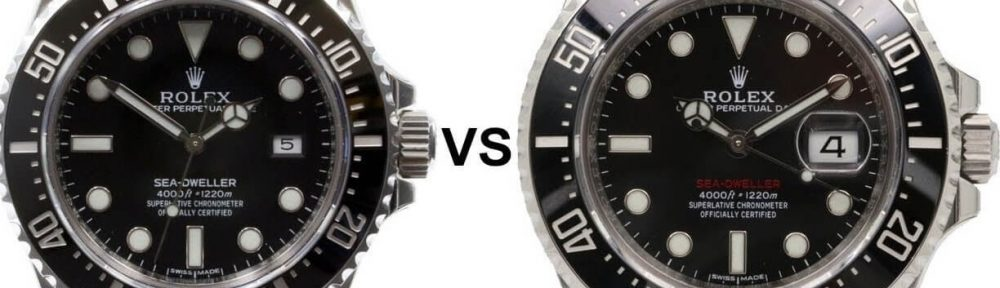 Rolex Sea-Dweller New VS Old 126600 VS 116600