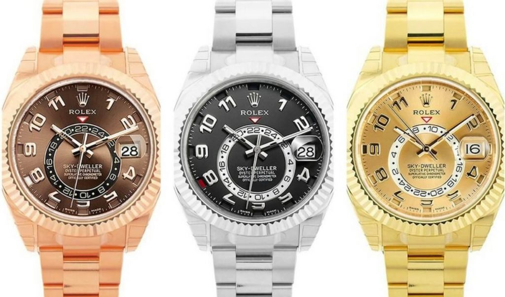 Rolex Sky-Dweller imitation watches 2012