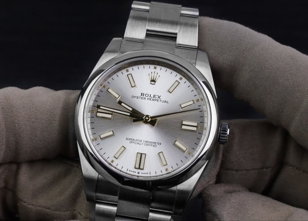 Knock Off Rolex Oyster Perpetual 36 124300 Silver