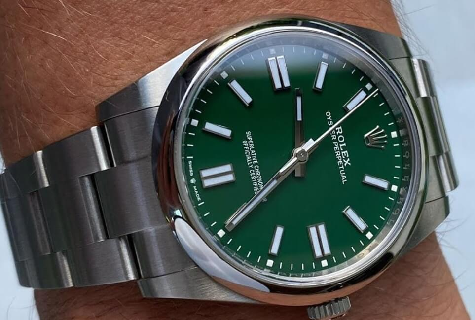 Knock Off Rolex Oyster Perpetual 36 124300 green