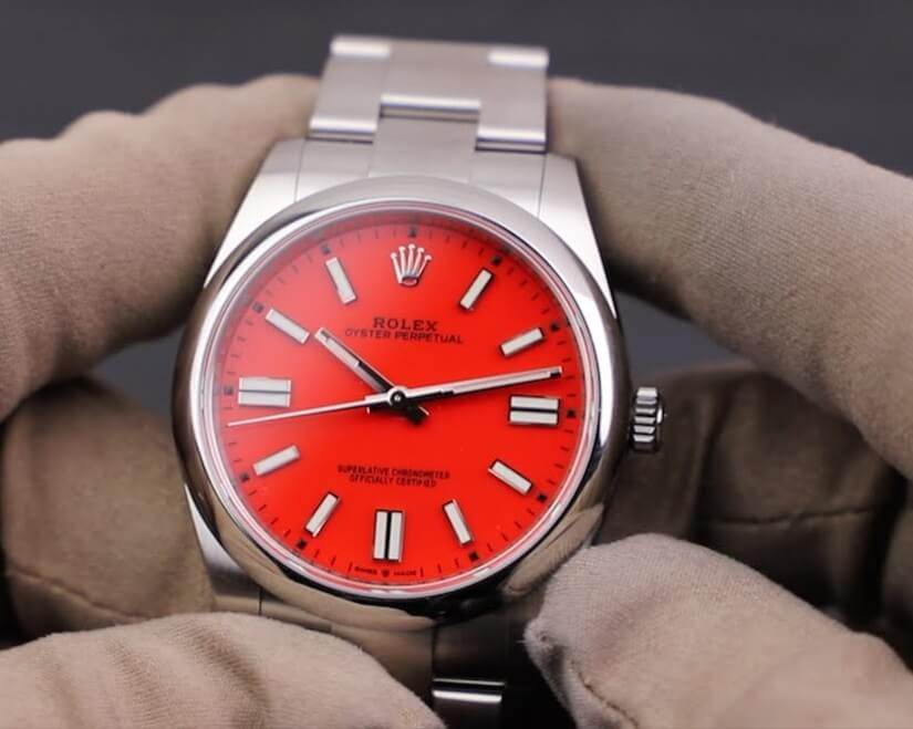 Knock Off Rolex Oyster Perpetual 36 126000 coral red