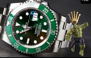 Fake Rolex Submariner Hulk 116610LV