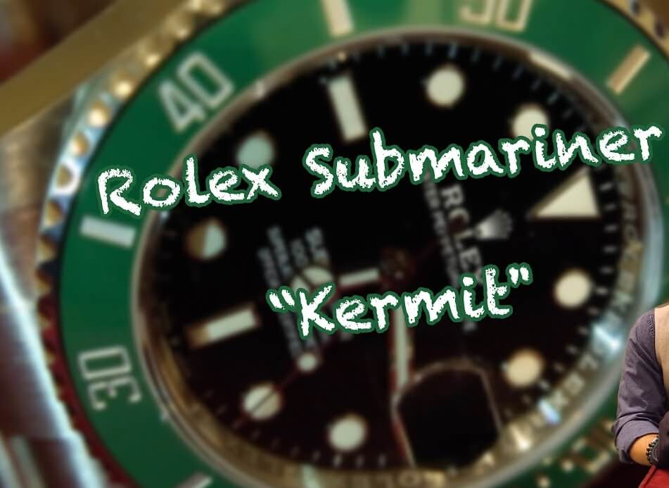 New Fake Rolex Submariner Kermit 126610LV