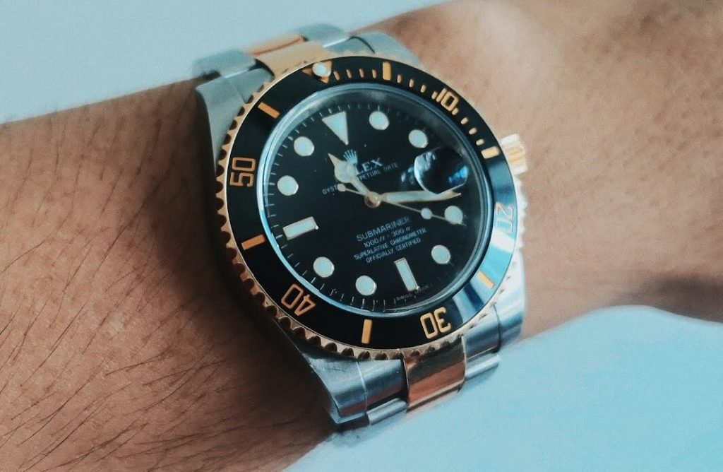 Replica Rolex Submariner Date Two-Tone 116613LN With Ceramic Bezel