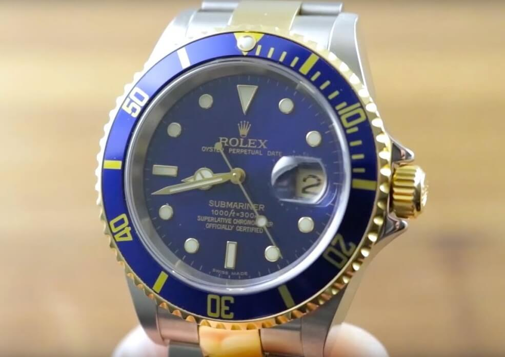 Replica Rolex Submariner Date Two-Tone 16613