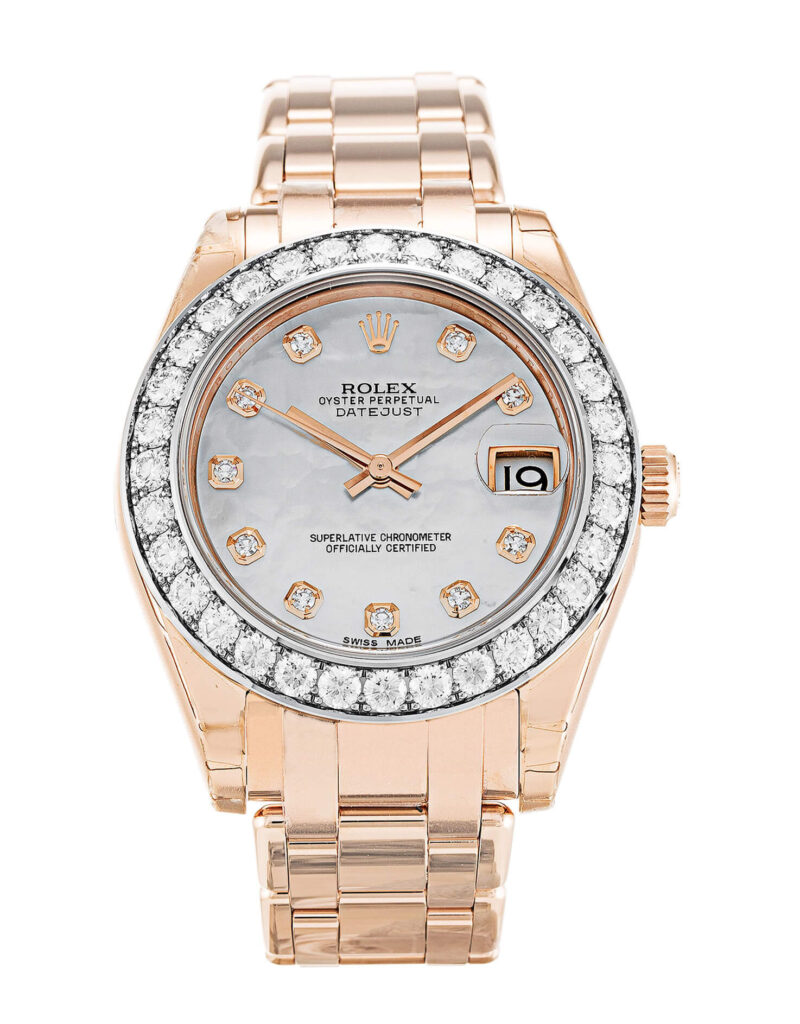 Rolex Fake Pearlmaster 81285